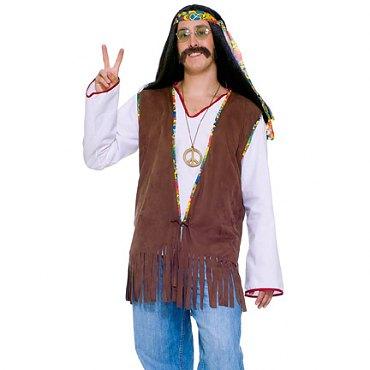 Male Hippie Vest