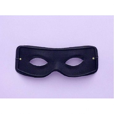 1/2 Mask-Masked Man W/Ties