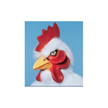 Chicken Mask - Deluxe Plush