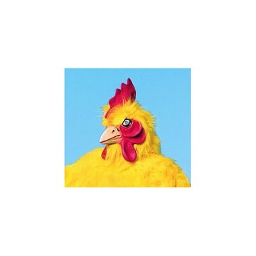 Chicken Mask - Deluxe Yellow