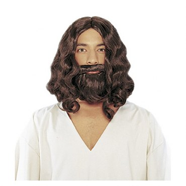 Biblical Beard & Wig Set - More Colors Available
