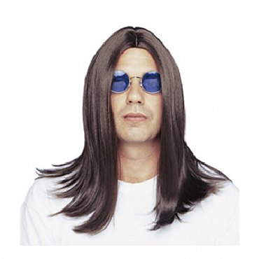 Brown Ozzy Wig