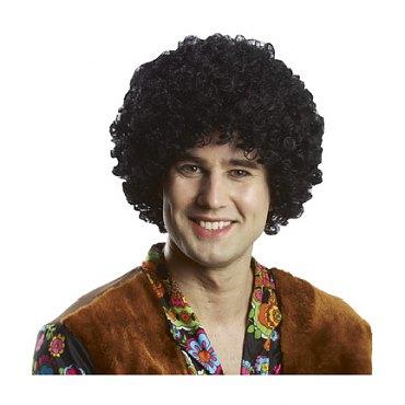 Economy Black Afro Wig