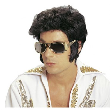 Rock &#39n&#39 Roll Elvis Wig