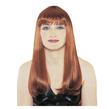 Natural Red Mistress Wig