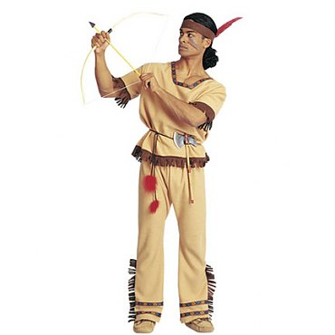 Warrior Indian Costume