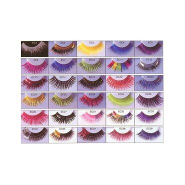 Party Eyelashes - Colors
