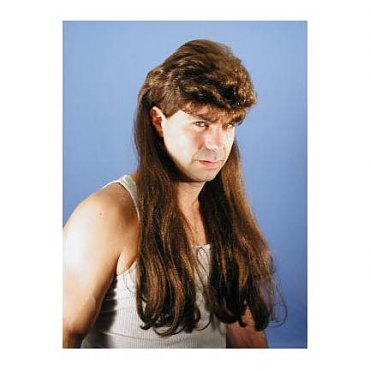 Deluxe Mega Mullet Wig - More Colors Available