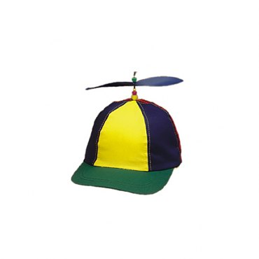 Multi-Color Propeller Cap