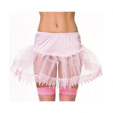 Petticoat - Frilly Lace Edged