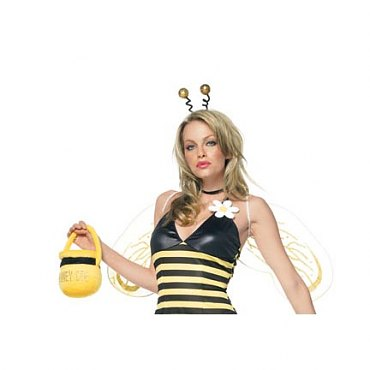 Plush Honey Bee Purse