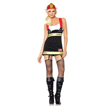 Backdraft Babe Firefighter Costume