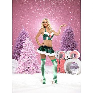 Sexy Candy Cane Santa