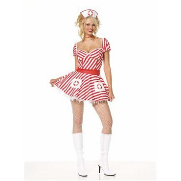 Candy Striper Nurse Outfit