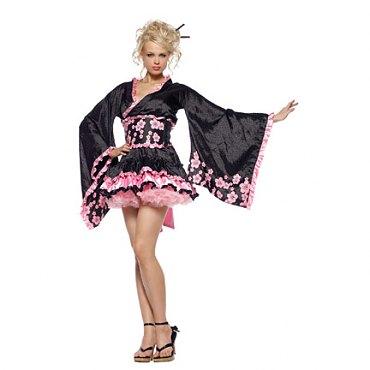 Cherry Blossom Geisha Costume