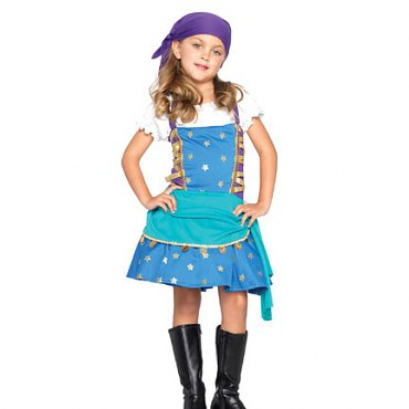 Childs Gypsy Princess Costume