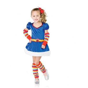 Childs Rainbow Brite Costume