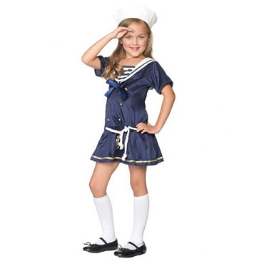 Childs Shipmate Cutie Sailor Costume