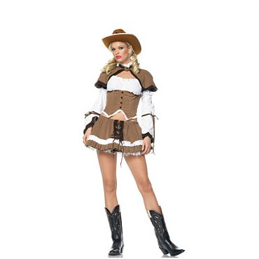 Cowgirl Sheriff Costume