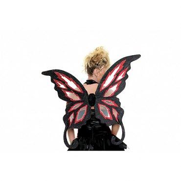 Fire Fairy Glitter Wings