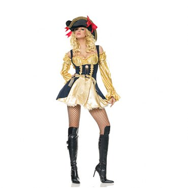 Gold Marauder Wench Costume
