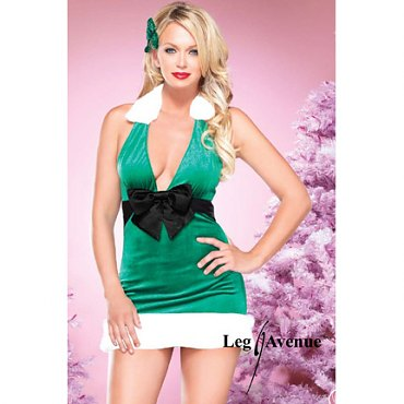 Green Holiday Harmony Christmas Outfit