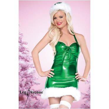 Green Holiday Hottie Christmas Outfit