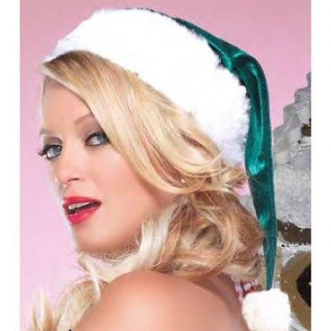 Plush and Velvet Elf Hat