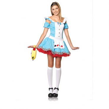 Junior Sweetheart Alice Costume