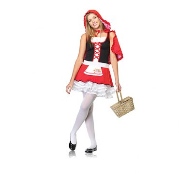 Junior Lil Miss Red Costume