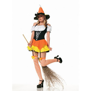 Kandy Korn Witch Costume