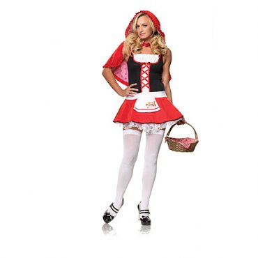 Lil Miss Red Riding Hood Costume