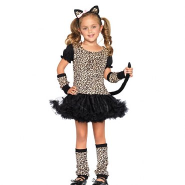 Childs Little Leopard Costume