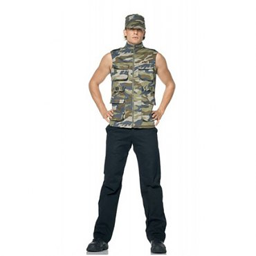 Mens Army Sergeant Costume