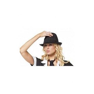 Pinstriped Fedora Hat