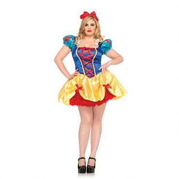 Plus Size Fairy Tale Snow White Costume