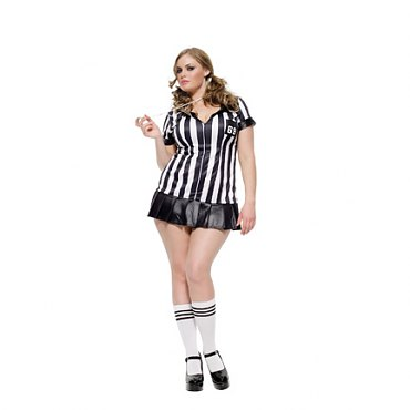 Plus Size Game Official Costume