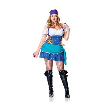 Plus Size Gypsy Princess Costume