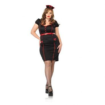 Plus Size Nurse Knockout Costume