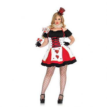 Plus Size Pretty Playing Card Costume
