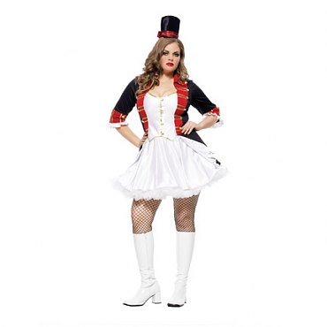 Plus Size Toy Soldier Costume