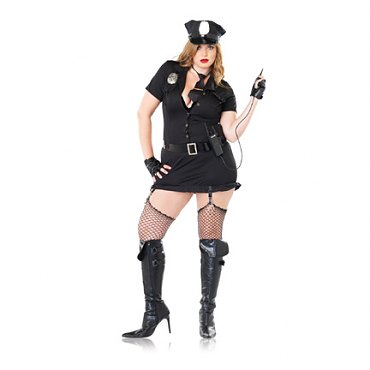 Plus Size Dirty Cop Costume