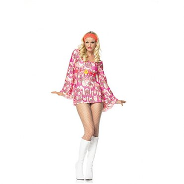 Retro Peace Daisy Costume