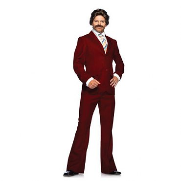 Ron Burgandy Suit