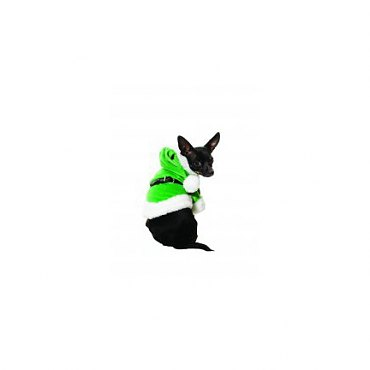 Green Santa Paws Pet Costume