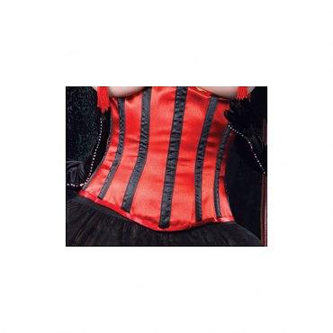 Satin Waist Cincher with Metal Boning
