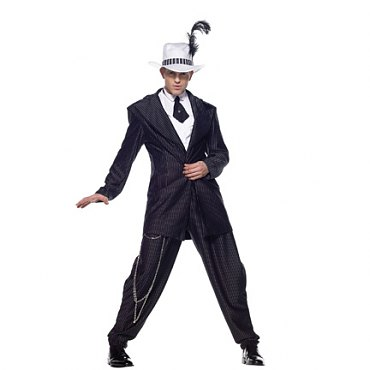 Zoot Suit Gangster Costume