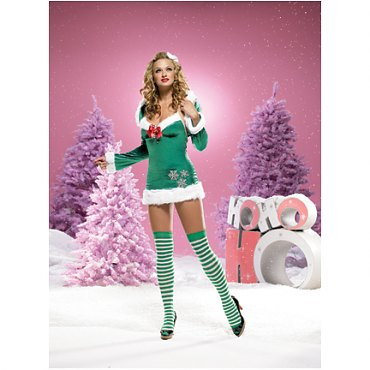 Snowflake Elf Costume