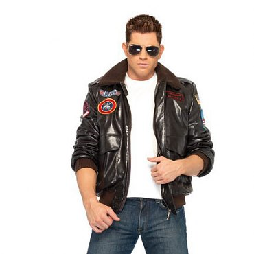 Top Gun Mens Bomber Jacket Set
