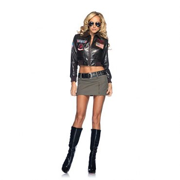 Top Gun Womens Bomber Jacket Set